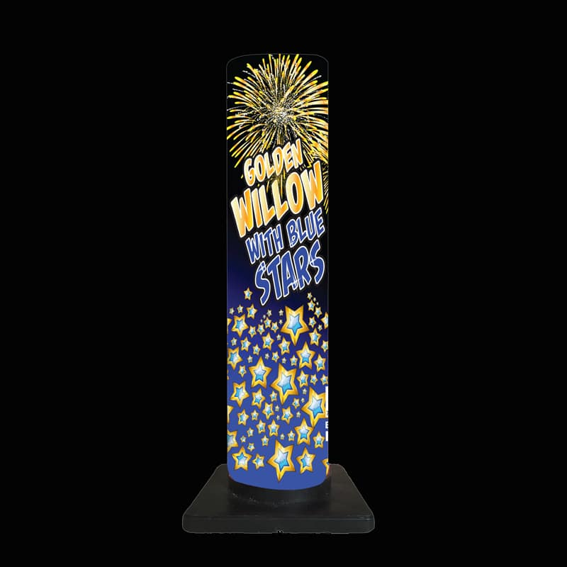 Golden Willow to Blue Stars