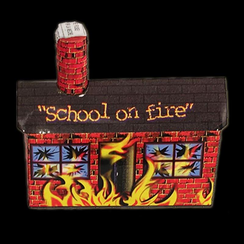 Burning Schoolhouse