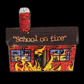 Burning Schoolhouse